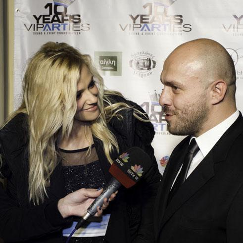 Nikos Tsirozidis VIPARTIES interview